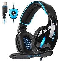 Hunpta@ Kopfhörer, SADES SA-902 7.1 Soundeffekt Stereo PC Gaming Headset Kopfhörer Mic Melbourne