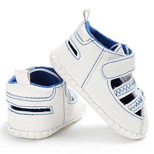 Leder Blau Rutschfest Baby Sandalen Bzline® Sommer Kleinkind Sneakers qxwZtn6Sz