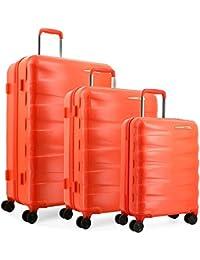 TEKMi RIO - Lot de 3 valises (Orange)