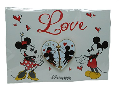 Disney Pin Pins DLRP 2018 Trade Set Mickey und Minni eMouse Valentin verliebt Love