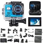 WIFI Underwater Camera 2.0-Inch LCD H...
