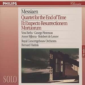 Messiaen: Quatuor pour la fin du Temps - Quartet for the End of Time - Et exspecto Resurrectionem Mortuorum