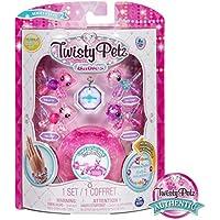 Twisty Petz 6044224 Babies Glitzy Bracelets, 4 Pack Set, Mixed Colours