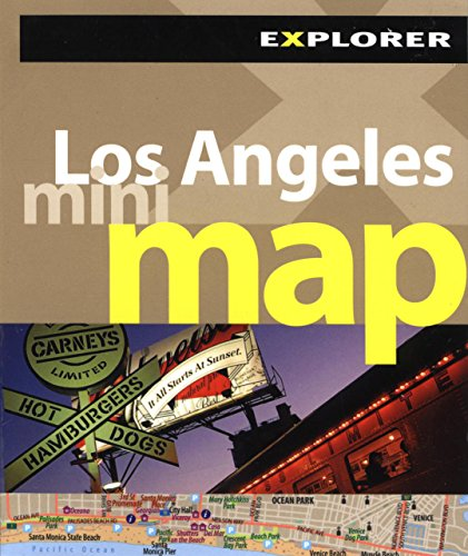 Los Angeles Mini Map Explorer (Mini Maps) por Explorer Publishing and Distribution