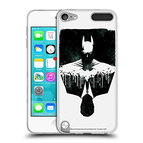 Head Case Designs Offizielle Batman DC Comics Alter Ego Stadtbild Dualitaet Soft Gel Huelle kompatibel mit Apple iPod Touch 5G 5th Gen