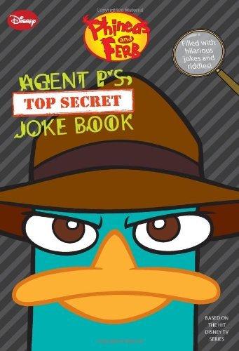 Agent P's Top-Secret Joke Book (Phin...
