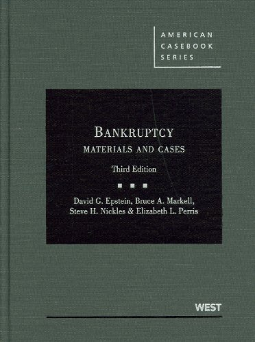 Bankruptcy: Materials and Cases PDF Books