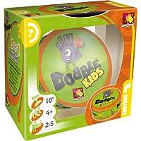 Asmodee-001769-Dobble-Kids-Reaktionsspiel Asmodee Zygomatic 001769 – Dobble Kids, Reaktions-Spiel, Deutsch -
