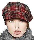 Loevenich Kappe Damen Schirmmütze Balloncap Ballonmütze mit schickem Karo-Muster