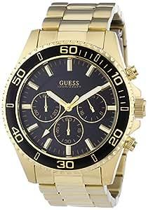 Guess - W0170G2 - Montre Femme - Quartz Chronographe - Bracelet Acier Inoxydable Doré