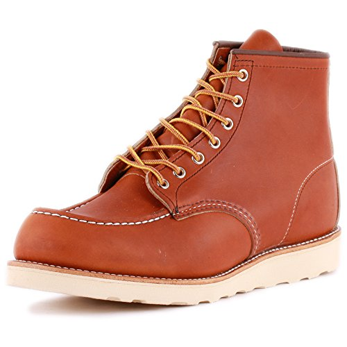 Red Wing 6-Inch Boot 00875-3 Mens Laced Leather Boots Tan - 10