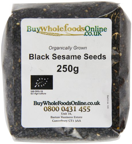 Buy Whole Foods Organic Black Sesame Seeds 250 g Test