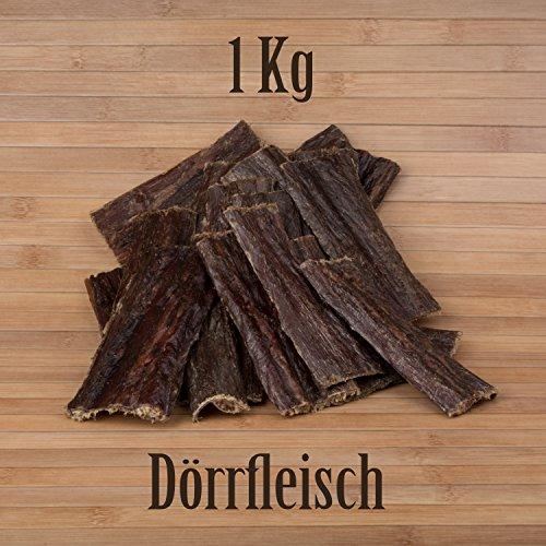 1 Kg Dörrfleisch Rinderdörrfleisch Rinderschlund Schlund Kauartikel Kausnack