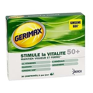Gerimax 50+ 30 Comprimés