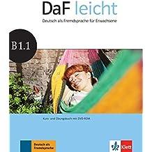 DaF leicht B1.1. Kurs- und Übungsbuch + DVD-ROM by Sabine Jentges (2016-05-02)