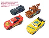 #2: PLUSPOINT Metal Master Cars3 Die Cast with Pull Back Function - Set of 4