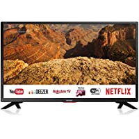 "Sharp aquos smart tv 32"" hd suono harman kardon sat internet wifi youtube netflix 3xhdmi 2xusb uscite cuffie scart e audio digitale."