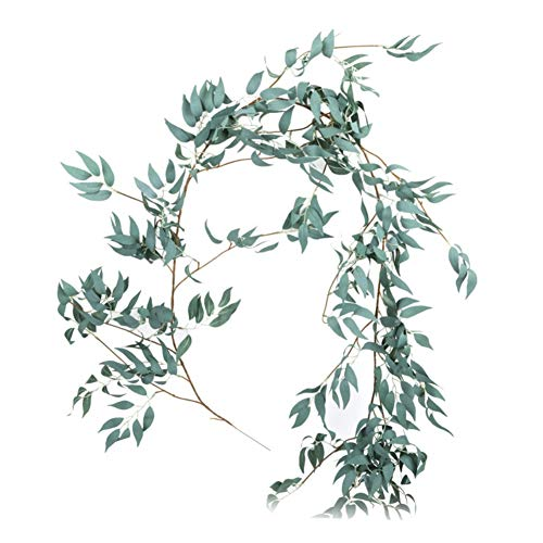 Rowentauk DIY Artificial Wedding Flower,Fake Flower Rattan Vines Twigs for Indoor/Outdoor Wedding Arch Decor Vine Party Home Decor (Prop Arch)