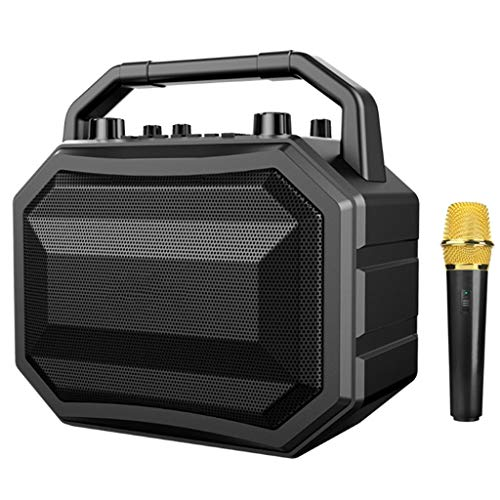 OPmeA Altavoz Bluetooth con micrófono inalámbrico Móvil Inalámbrico Karaoke Speaker TWS Wireless...