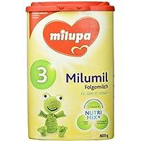 Milupa milumil 3 Folgemilch, ab dem 10. Monat, 4er Pack (4 x 800 g)