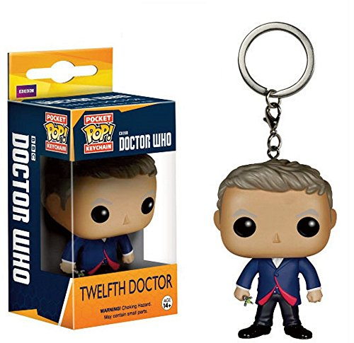 Doctor Who - Pocket Pop - Vinyl Schlüsselanhänger - 12th ()