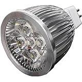 SODIAL(R)5W 12V GU5.3 MR16 Blanco Spot LED Luz Bulbo de lampara ahorro de energia