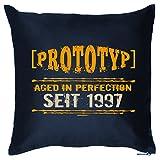 Zum 18. Geburtstag! Kissen mit Füllung - Prototyp Aged in Perfection seit 1997 - Ein cooles Geschenk zum 18ten!
