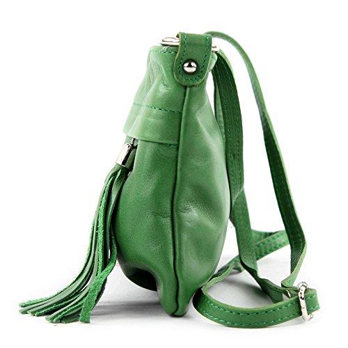 Made Italy, Borsa a tracolla donna Verde (verde)