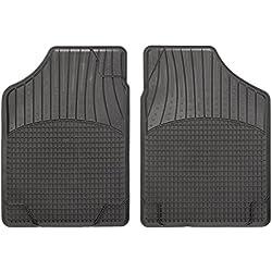 CarFashion Allwetter Schalenmatte B2, Auto Fussmatten Set in schwarz, 2-teilig, ohne Mattenhalter für A4 Limousine, Avant, Baujahr 01/1999-06/2000