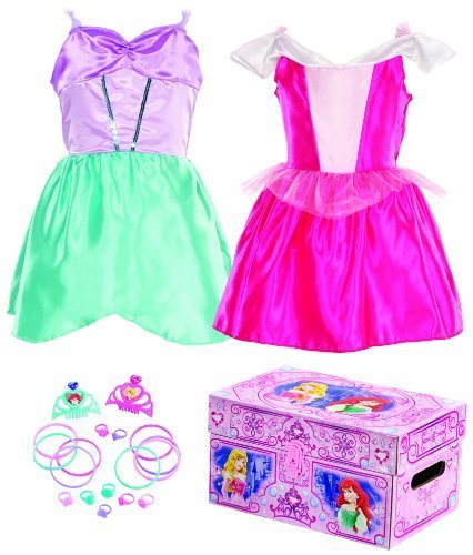 Disney Princess Bling Sleeping Beauty and Ariel Dress-Up Trunk by Disney Princess