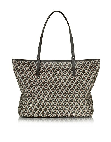 lancaster-paris-womens-41804marron-brown-canvas-tote