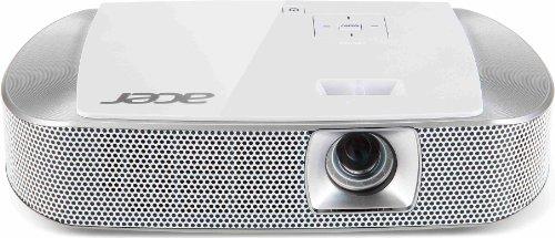 Acer K137 DLP-LED-Projektor (WXGA, HD-Ready, Kontrast 10.000:1, 1.280 x 800 Pixel, 700 ANSI Lumen, HDMI/MHL Anschluss, SRS WOW HD Sound) weiß -