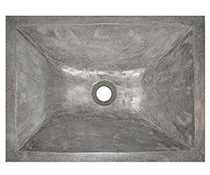 Vasque en terrazzo Tamara gris