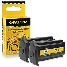 2x Batterie NP-E3 pour Canon EOS 1D | EOS 1D Mark II | EOS 1D Mark II N | EOS 1Ds | EOS 1Ds Mark II