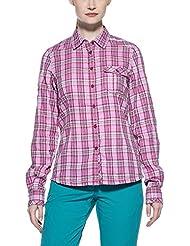 Salewa Camisa Siby Co W L/S Rosa ES 48 (DE 46)