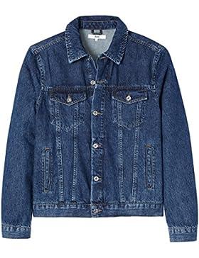 FIND Herren Jeansjacke mit Vintage-Waschung