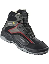 AIMONT - Calzado de protección de Piel para hombre gris gris oscuro gris Size: 45 KQ6d7