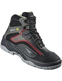 AIMONT - Calzado de protección de Piel para hombre gris gris oscuro gris Size: 45