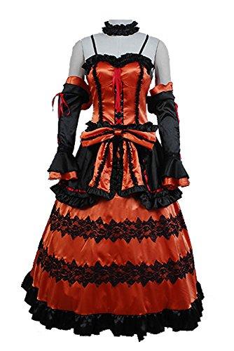 DATE A LIVE Kurumi Tokisaki Astral Dress Cosplay Kostüm XL