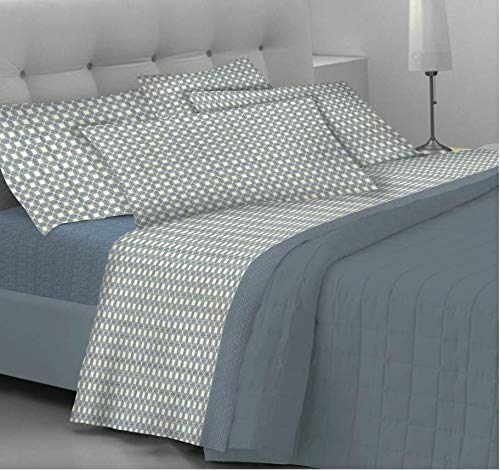Goldenhome set lenzuola matrimoniali/completo letto emma: coppia federe + lenzuolo sotto con angoli + lenzuolo sopra - fantasia rose