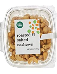 Whole Foods Market Roasted and Salted Cashews, 250 g