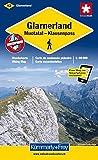 Glarnerland - Walensee 1 : 60 000 / Wanderkarte. Flumserberg - Pizol (Kümmerly+Frey Wanderkarten) - KUMMERLY+FREY WANDERKARTE