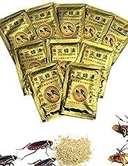 10 قطع اكياس مسحوق فعال لقتل الصراصير مسحوق طعم صراصير مبيد قاتل ومكافح للافات منتجات مساحيق صراصير لمكافحة ال