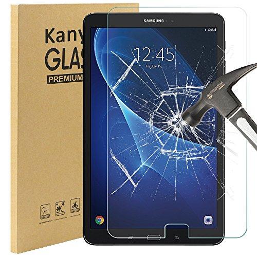 Galaxy Tab A 10.1 Schutzfolie Glas, Kany Displayschutzfolie Glas Folie 0.25 mm 9H Hartglas 2.5D Schutzfolie Glas Für Samsung Galaxy Tab A 10.1 Panzerfolie Hartglas Glasfolie Panzerglas Glas Schutzfolie