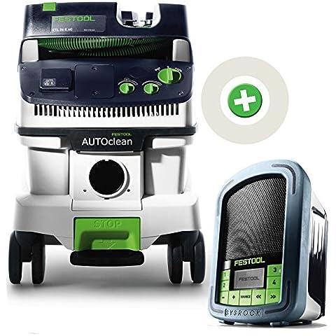 Festool azione: 00583355–Aspiratore portatile CTL 26E AC + Radio BR10| 584017radio