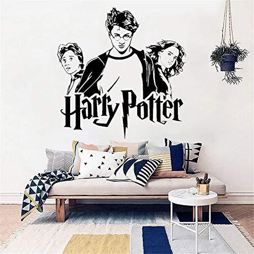 wandaufkleber Harry Potter Trio Ron Hermine Hogwarts Kunst für Kinderzimmer Kinderzimmer Schlafzimmer Dekor -