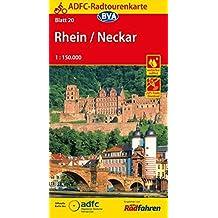 ADFC-Radtourenkarte 20 Rhein/Neckar 1:150.000, reiß- und wetterfest, GPS-Tracks Download (ADFC-Radtourenkarte 1:150000)