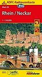 ADFC-Radtourenkarte 20 Rhein /Neckar 1:150.000, reiß- und wetterfest, GPS-Tracks Download (ADFC-Radtourenkarte 1:150000)