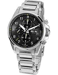 Jacques Lemans Herren-Armbanduhr XL Liverpool Automatic Chronograph Automatik Edelstahl 1-1750D