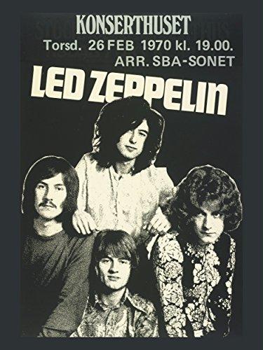LED Zeppelin foto forza di Promo posters 40x 30cm